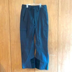 Arctix Cargo snow ski pants grey pockets